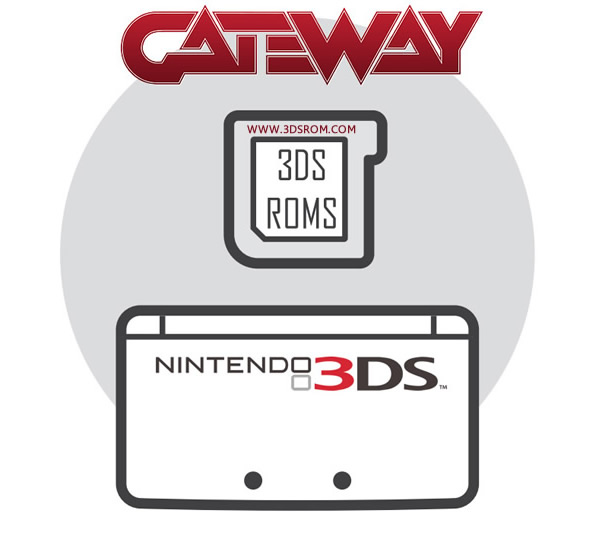 3DS Roms Gateway Flash Card
